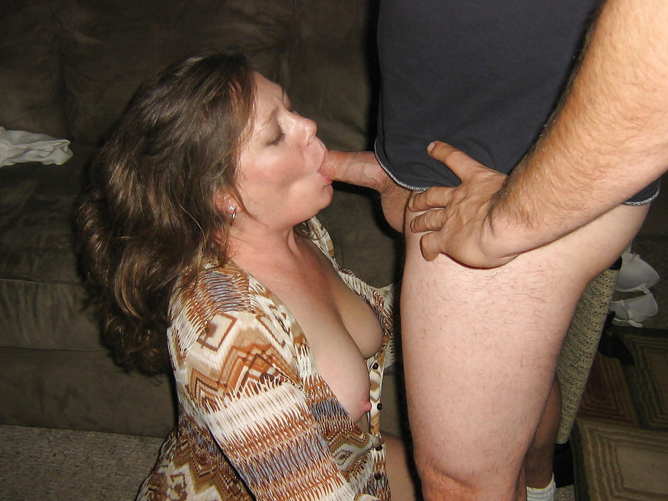 My mature wife takes all their cocks
